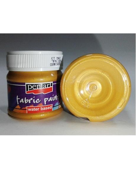 Vopsea textile aur 50 ml