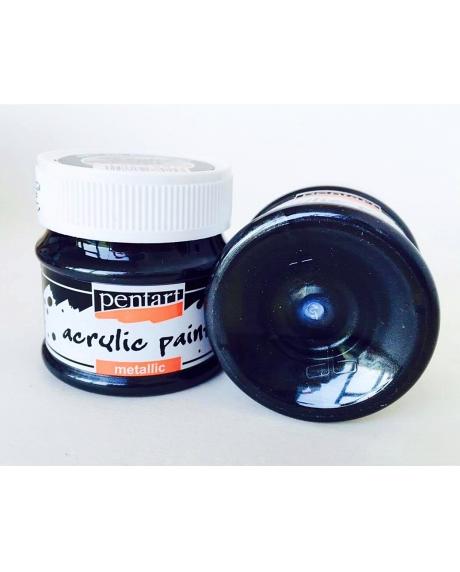 Vopsea acrilica grafit, 50 ml