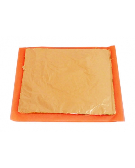 Foita schlagmetal 16x16-cupru (25 buc/set)