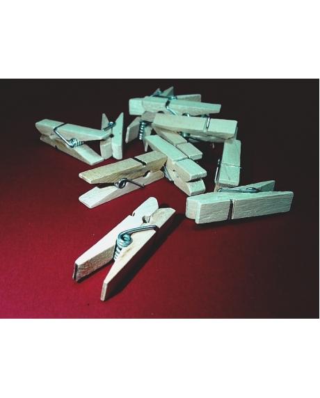Cleme lemn 4.5x0.7 cm (10 buc/set)
