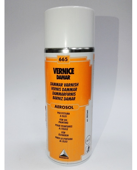 Vernis dammar aerosol 400 ml