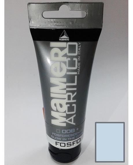 Vopsea acrilica glow in the dark-fosfo 75 ml