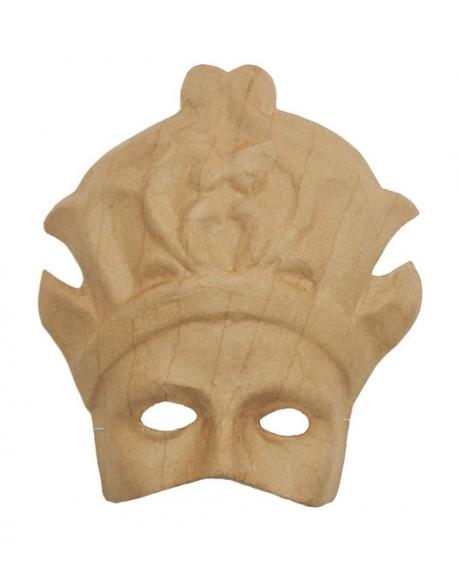 Masca venetiana din carton presat diva