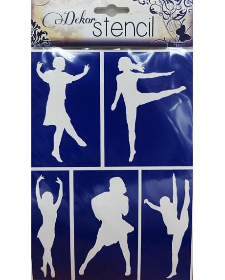 Sablon flexibil autoadeziv - Dans