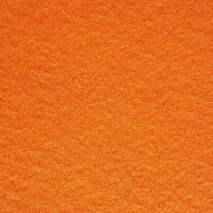 Fetru autoadeziv portocaliu A4