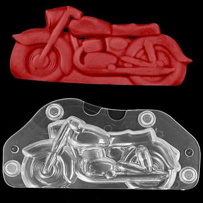 Forme 3D pentru figurine din ciocolata - Motocicleta