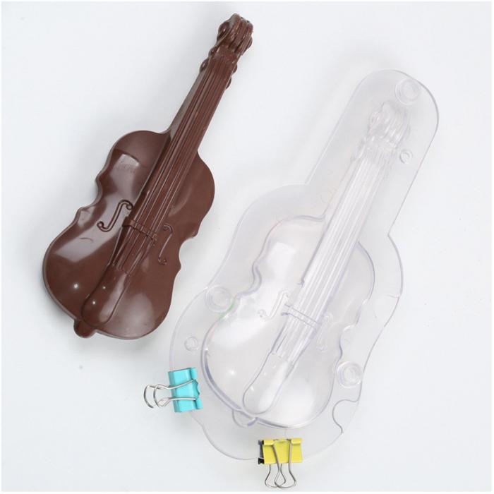 Forme 3D pentru figurine din ciocolata - Vioara