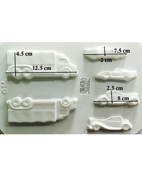 Matrita pentru turnat ipsos - Mijloace transport 3D- masini