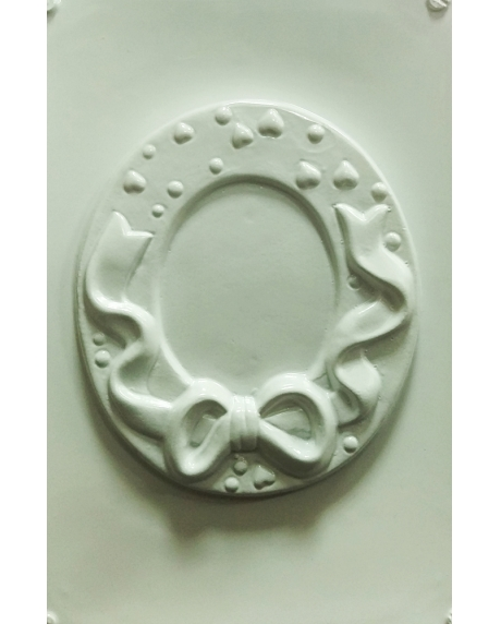 Rama ovala 8 x 7 cm