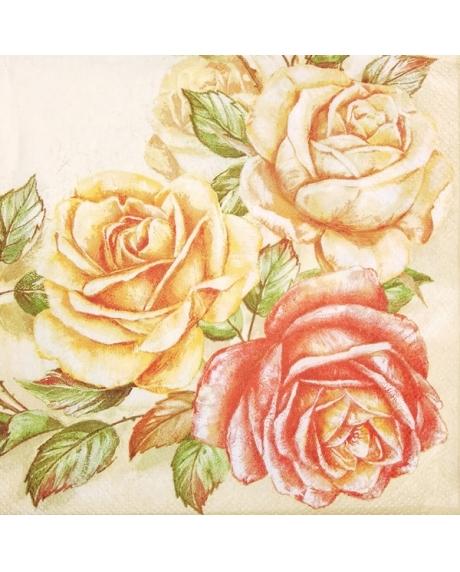 Servetel floral