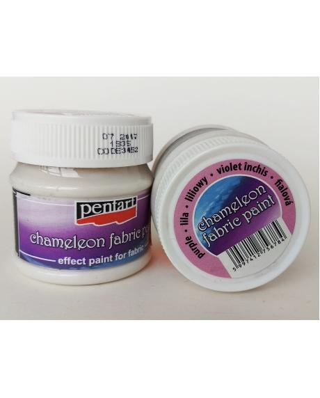Vopsea textile chameleon violet inchis 50 ml