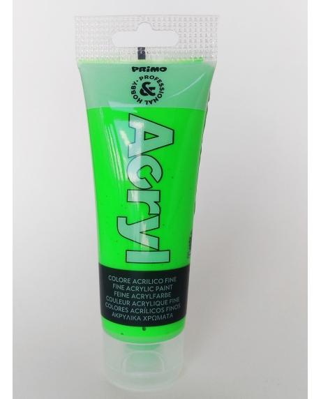 Vopsea acrilica fosforescenta 75 ml verde