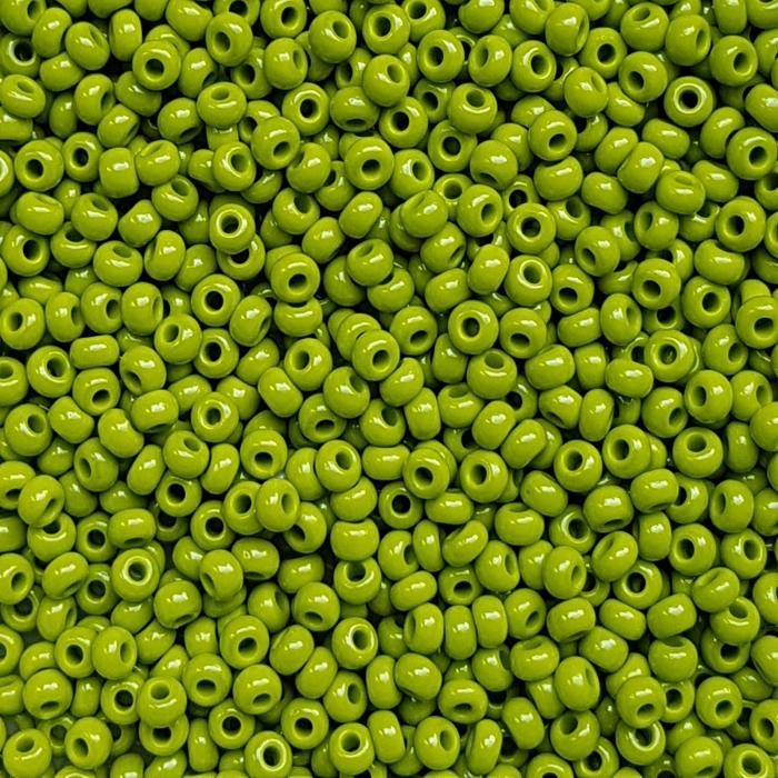 Margele nisip Preciosa Ornela 8/0 - 40 g -Oliva opac 53430