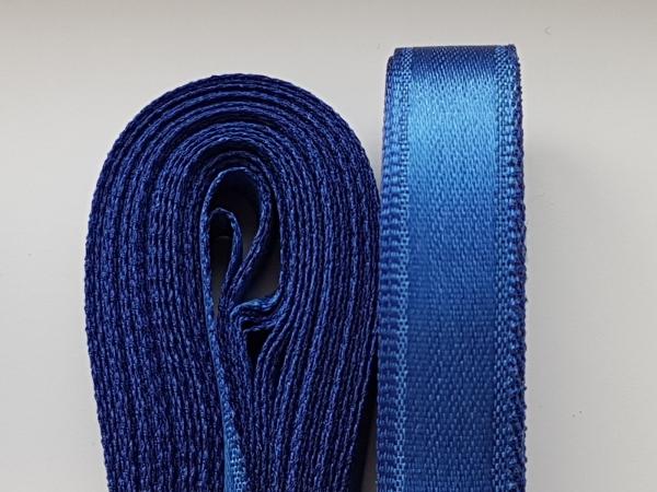 Saten albastru 20 mm