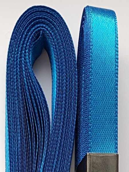 Saten albastru 10 mm