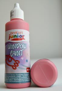 Window paint rosu 80 ml