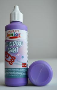 Window paint violet 80 ml
