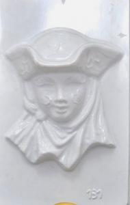 Matrita pentru turnat ipsos - Masca venetiana 2