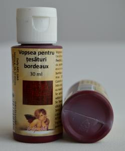 Vopsea textile bordeaux 30 ml