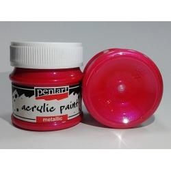 Vopsea acrilica magenta (50 ml)