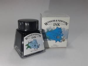 Cerneala desen - albastru cobalt 14ml