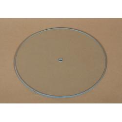 Cadran ceas rotund din sticla 21 cm