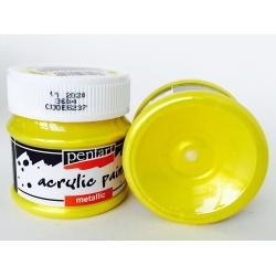 Vopsea acrilica galben (50 ml)