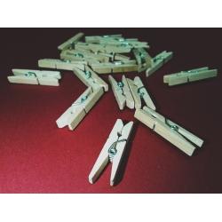 Cleme lemn 2.5x0.3 cm (25 buc/set)