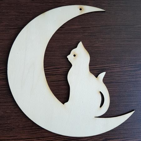 Semiluna cu pisica