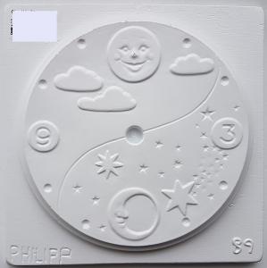 Matrita pentru turnat ipsos - Cadran ceas