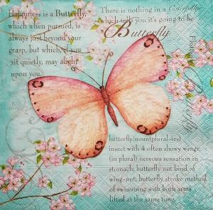 Servetel cu fluture