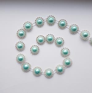 Perle albastre jumatati