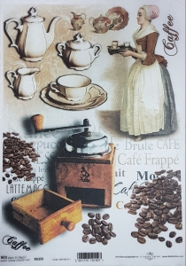 Hartie de orez A4 - Cafea