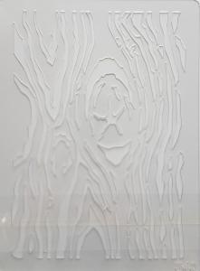 Sablon plastic - Textura scoarta copac