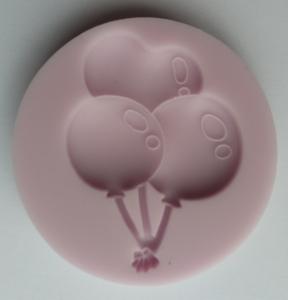 Mulaj din silicon, baloane cu heliu