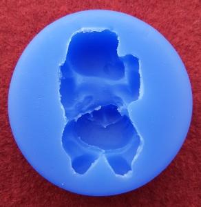 Mulaj din silicon, bebelus stand pe burtica