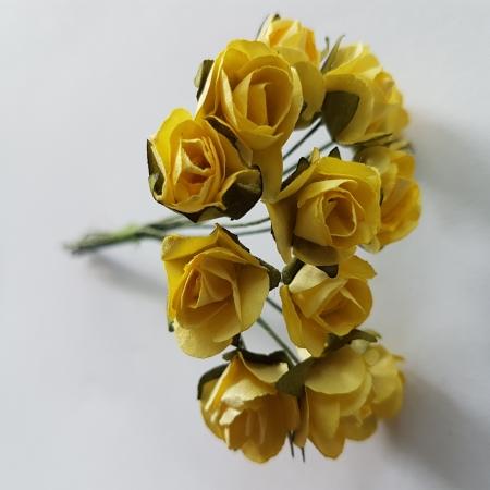 Flori din hartie - Galben