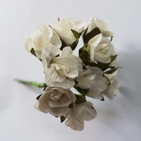 Flori din hartie - Alb