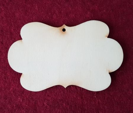 Eticheta din lemn