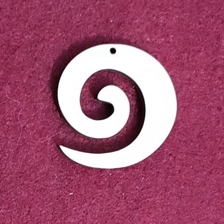 Decoratiune din lemn in forma de spirala