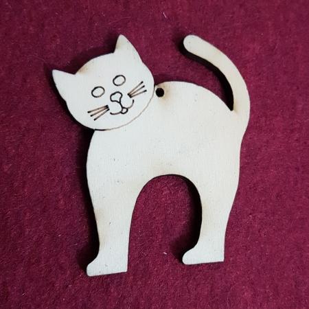 Decoratiune in forma de pisica