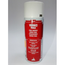 Vernis final lucios aerosol 400ml