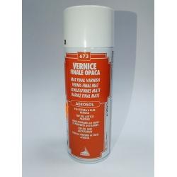 Vernis final mat aerosol 400 ml