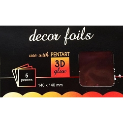 Folie decor metalizat bordo