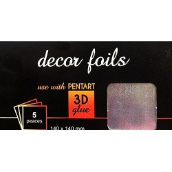 Folie decor holograma puncte
