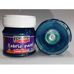 Vopsea textile albastru verzui 50 ml