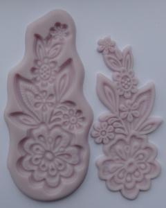 Mulaj din silicon, modelator floral