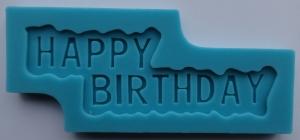 Mulaj din silicon - Happy Birthday