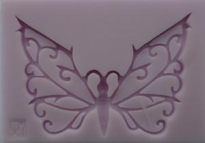 Mulaj din silicon - Fluture