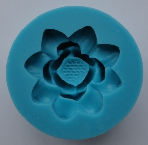 Mulaj din silicon, floare de lotus